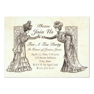 Victorian Ladies Invitation