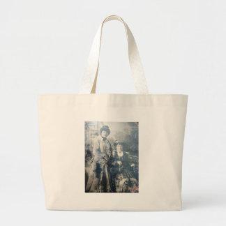 Victorian Ladies Jumbo Tote Bag