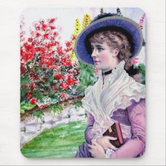Victorian Lady Design Mouse Pad