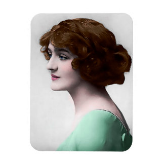 Victorian Lady Magnet