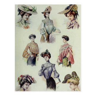 Victorian Lady – Vintage French Fashion – Blouses Postcard