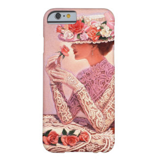 Victorian Lady with Rose iPhone 6 Case