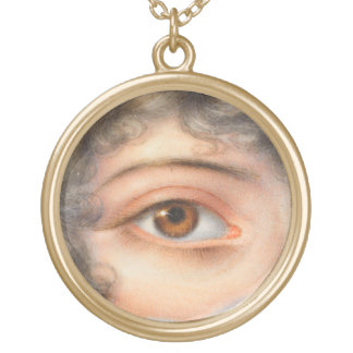 Victorian Lovers Eye Jewelry Vintage Style Charm