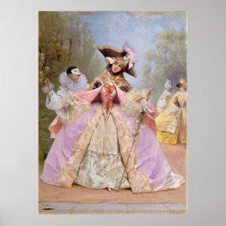 Victorian Masquerade Ball - Mardi Gras Poster