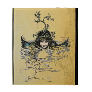 Victorian Mermaid iPad Folio Cover