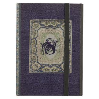 Victorian Monogram Book Design Cover For iPad Air