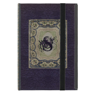 Victorian Monogram Book Design Cover For iPad Mini