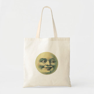 Victorian Moon Tote Bags