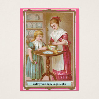 Victorian Mother & Daughter Baking