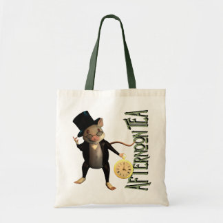 Victorian Mouse Budget Tote Bag