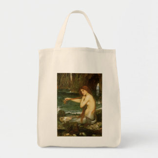 Victorian Mythology Art, Mermaid by JW Waterhouse