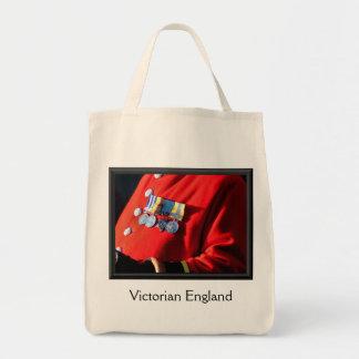 VICTORIAN OLD ENGLAND CANVAS BAG