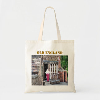 VICTORIAN OLD ENGLAND UK CANVAS BAGS