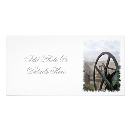 VICTORIAN OLD ENGLAND UK PERSONALIZED PHOTO CARD