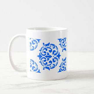 Victorian Ornamental Basic White Mug