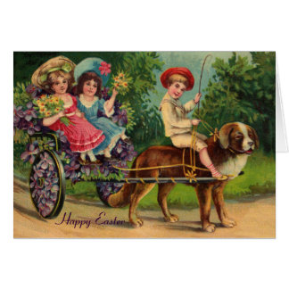 Victorian Parade Easter Card