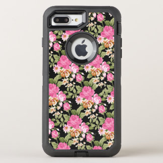 Victorian pink rose pattern otterbox 7 OtterBox defender iPhone 7 plus case