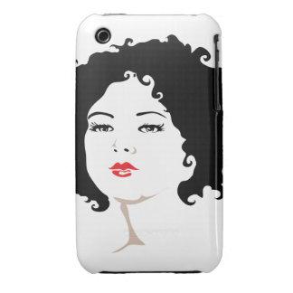 Victorian Portrait iPhone 3 Cover
