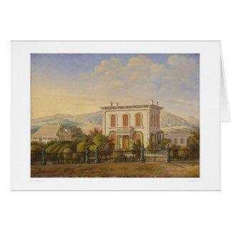 Victorian Residence, San Francisco, Calif. (1277) Greeting Card
