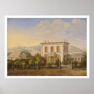 Victorian Residence, San Francisco, Calif. (1277) Poster