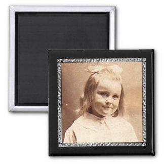 Victorian Roman Border Photo Frame Refrigerator Magnet
