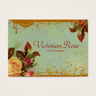Victorian Rose Elegant Business Cards