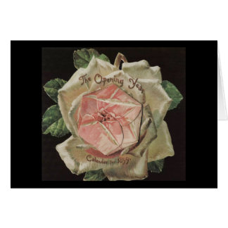 Victorian Rose Opening Year Card