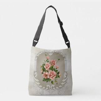 Victorian Roses Cross Body Bag