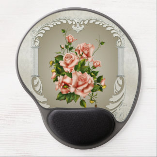 Victorian Roses Gel Mouse Pad