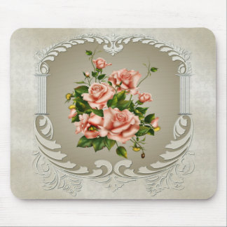 Victorian Roses Mouse Pad