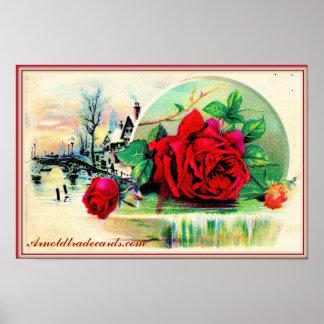 "Victorian ""Royal Rose"" poster"