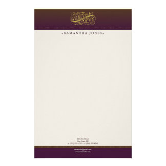 Victorian Royalty Customized Stationery