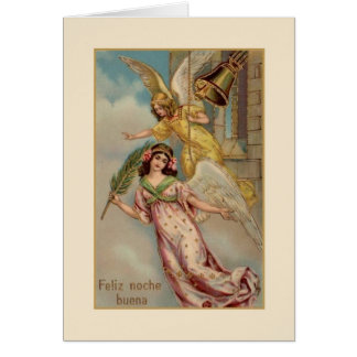 Victorian Spanish / Hispanic Christmas Card