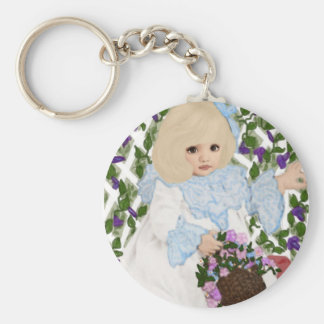Victorian Spring Key Chains
