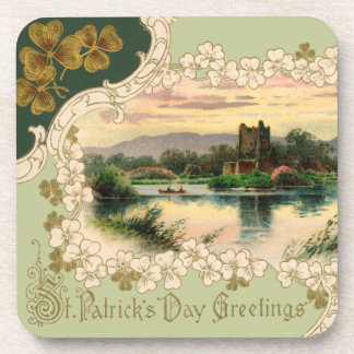 Victorian St Patrick s Day Drink Coasters
