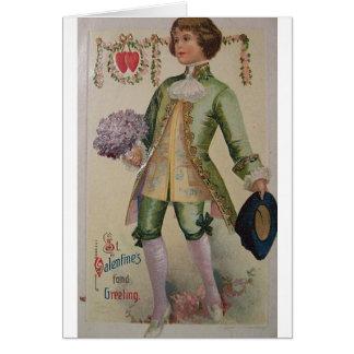 Victorian St. Valentine's Day Greeting Card