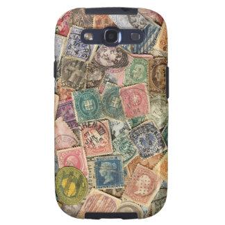Victorian Stamp Collage Samsung Galaxy S3 Cases