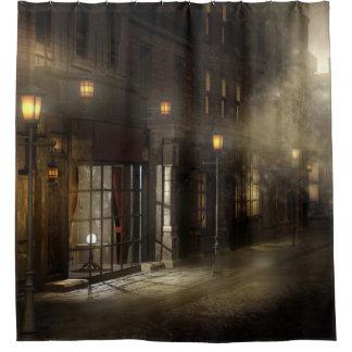 Victorian Street Shower Curtain