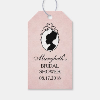 Victorian Style 60s Cameo Gift Tags