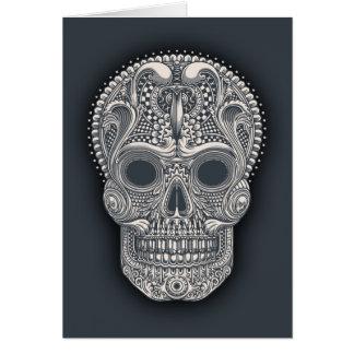Victorian Sugar Skull Card