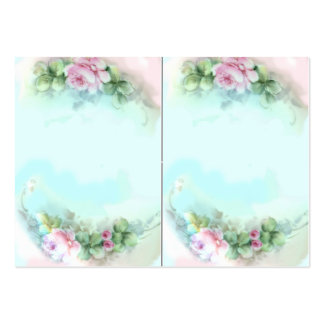 Victorian Sweetheart Roses Pack Of Chubby Business Cards
