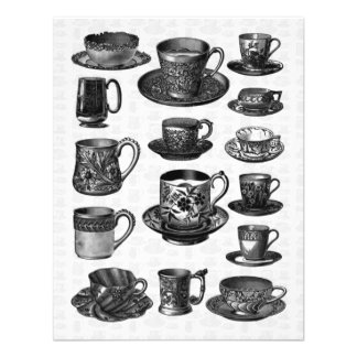 Victorian Tea Party Custom Announcement