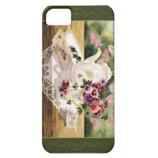 """Victorian Tea' Phone Case iPhone 5 Case"