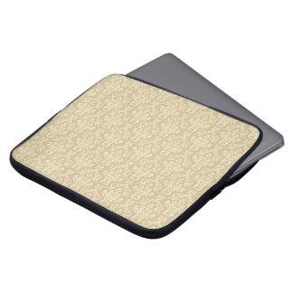 Victorian texture laptop sleeve