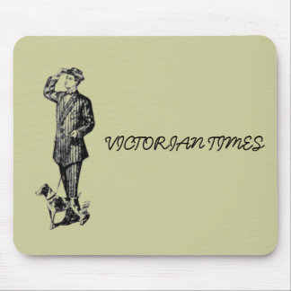 Victorian Times Mouse Pad