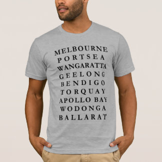 VICTORIAN TOWNS AND CITIES T-Shirt