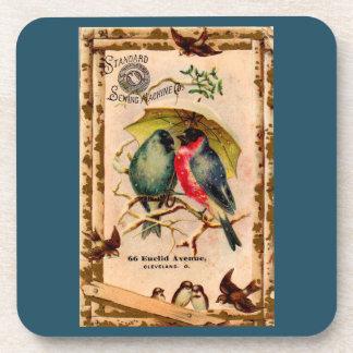Victorian trade card Standard Sewing Machine Co. Coaster
