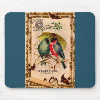 Victorian tradecard Standard Sewing Machine Co. Mouse Pad