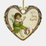 Victorian Valentine Ornament
