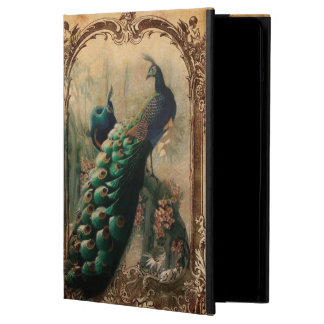 victorian vintage floral parisian peacock cover for iPad air
